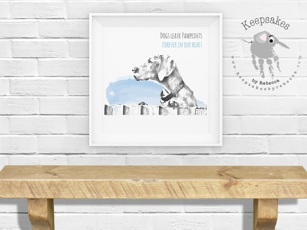 Pet Portrait Gifts and Keepsakes