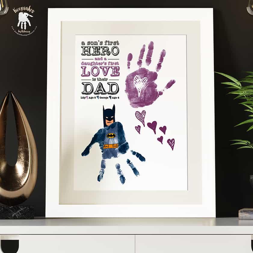 Dad-handprints-footprints-keepsake-Batman-daughter