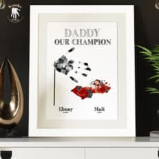 Dad-handprints-footprints-keepsake-F1-Racing-car-daughter